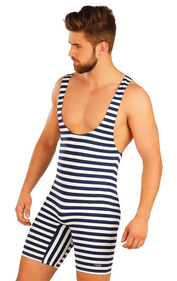 Pánske retro plavky s trakmi. 50500 | Pánske plavky LITEX