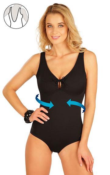 Sťahujúce jednodielne plavky s kosticami.