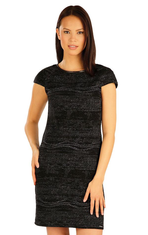 Šaty dámske s krátkym rukávom. 51006 | Šaty a sukne LITEX