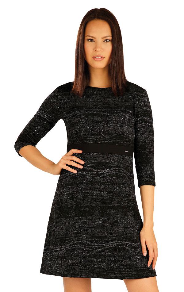 Šaty dámske s 3/4 rukávom. 51007 | Šaty a sukne LITEX