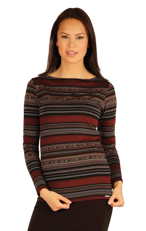 Tričko dámske s dlhým rukávom. 51017 | Tričká, topy, tielka LITEX