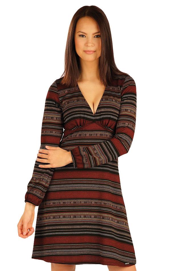 Šaty dámske s dlhým rukávom. 51019 | Šaty a sukne LITEX