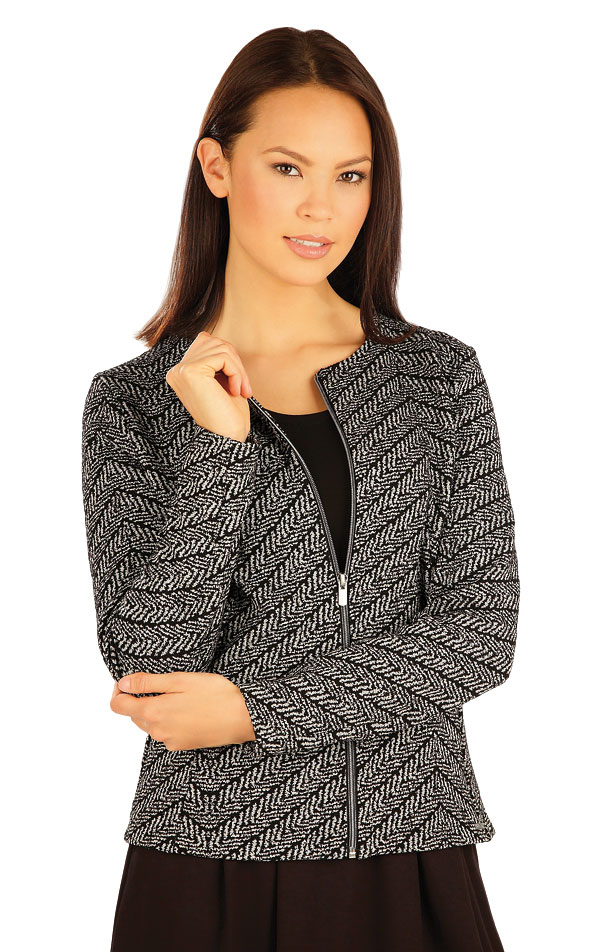 Kabátik dámsky s dlhými rukávmi. 51029 | Športové oblečenie -  zľava LITEX