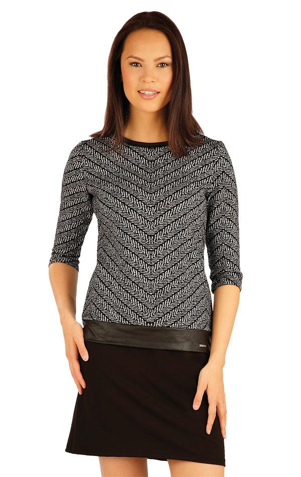 Šaty dámske s 3/4 rukávom. 51032 | Športové oblečenie -  zľava LITEX