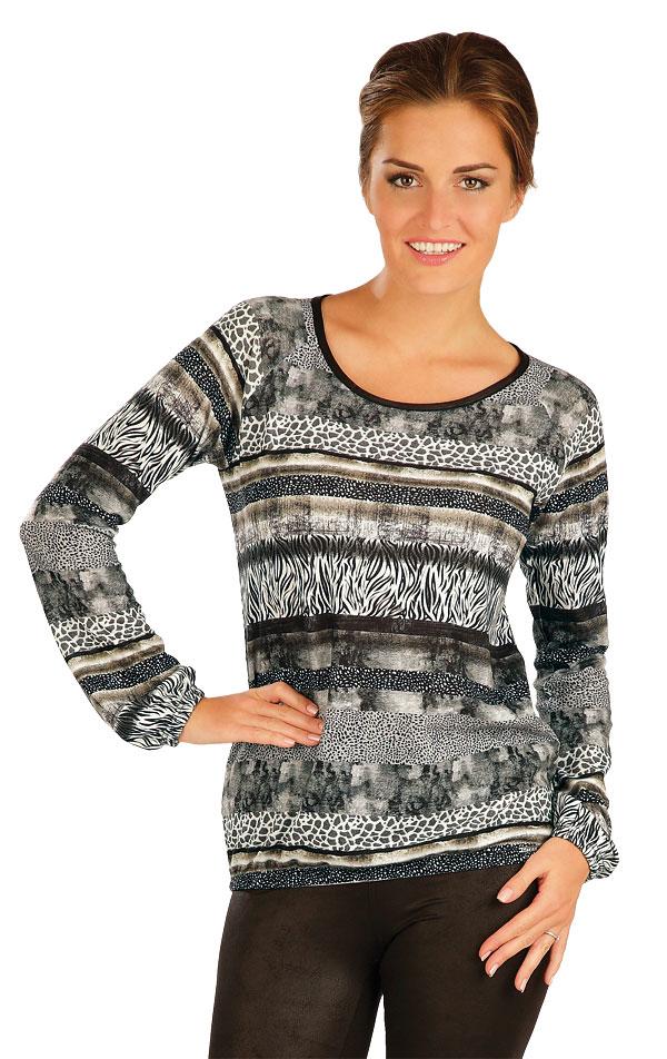 Tričko dámske s dlhým rukávom. 51037 | Športové oblečenie -  zľava LITEX