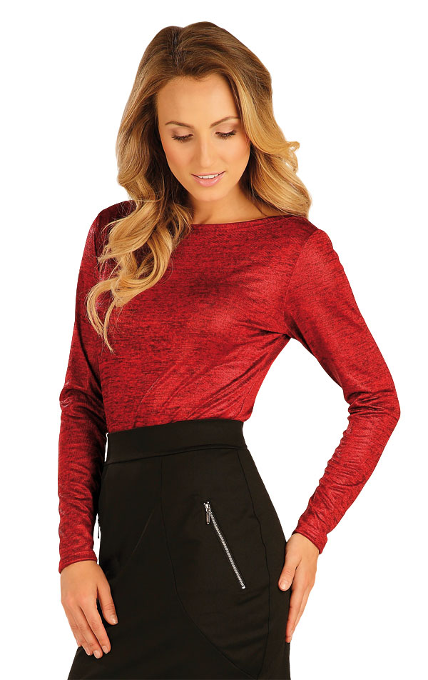 Tričko dámske s dlhým rukávom. 51042 | Športové oblečenie -  zľava LITEX