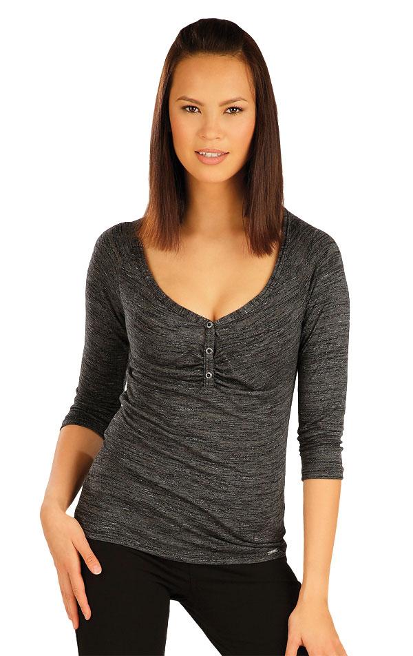 Tričko dámske s 3/4 rukávom. 51051 | Športové oblečenie -  zľava LITEX
