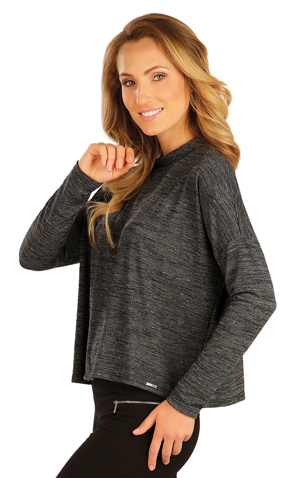 Tričko dámske s dlhým rukávom. 51052   Športové oblečenie -  zľava LITEX