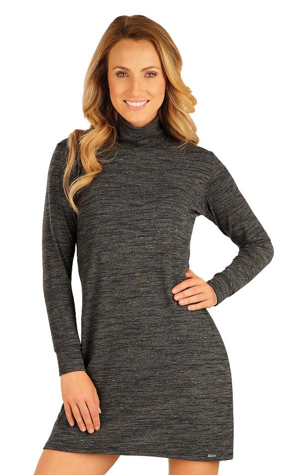 Šaty dámske s dlhým rukávom. 51053 | Športové oblečenie -  zľava LITEX