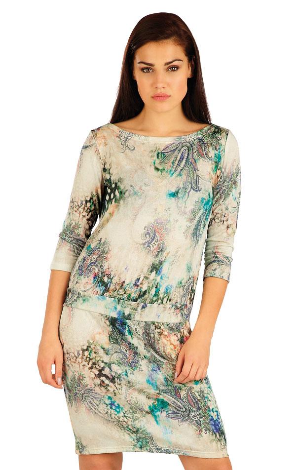 Šaty dámske s 3/4 rukávom. 51058 | Šaty a sukne LITEX