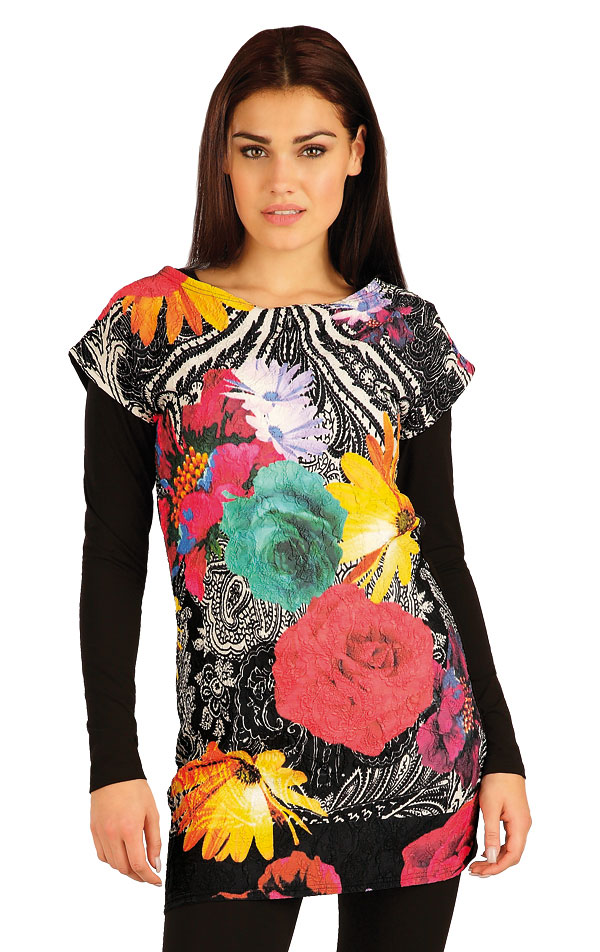 Tunika dámska s krátkym rukávom. 51068   Športové oblečenie -  zľava LITEX
