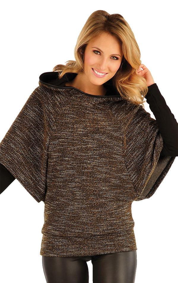 Pončo dámske s kapucňou. 51070 | Športové oblečenie -  zľava LITEX