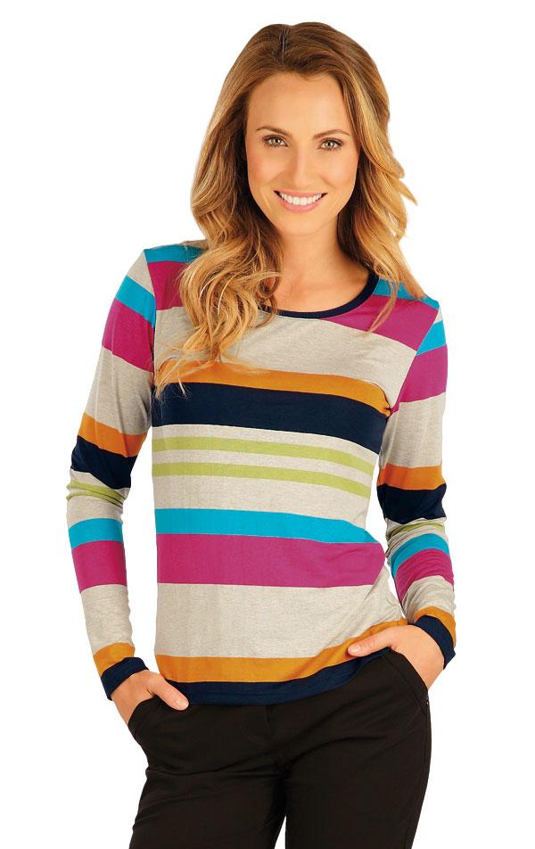 Tričko dámske s dlhým rukávom. 51102   Športové oblečenie -  zľava LITEX
