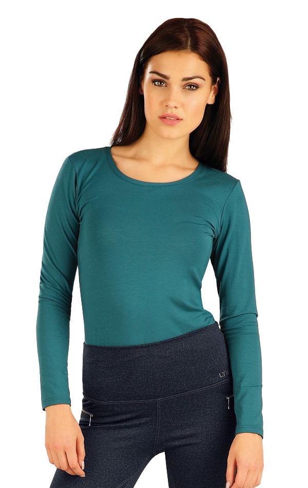 Tričko dámske s dlhým rukávom. 51128   Športové oblečenie -  zľava LITEX