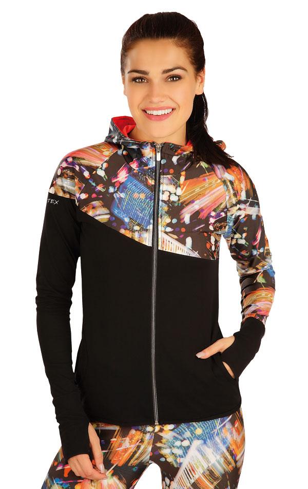 Bunda dámska s kapucňou. 51147   Športové oblečenie -  zľava LITEX