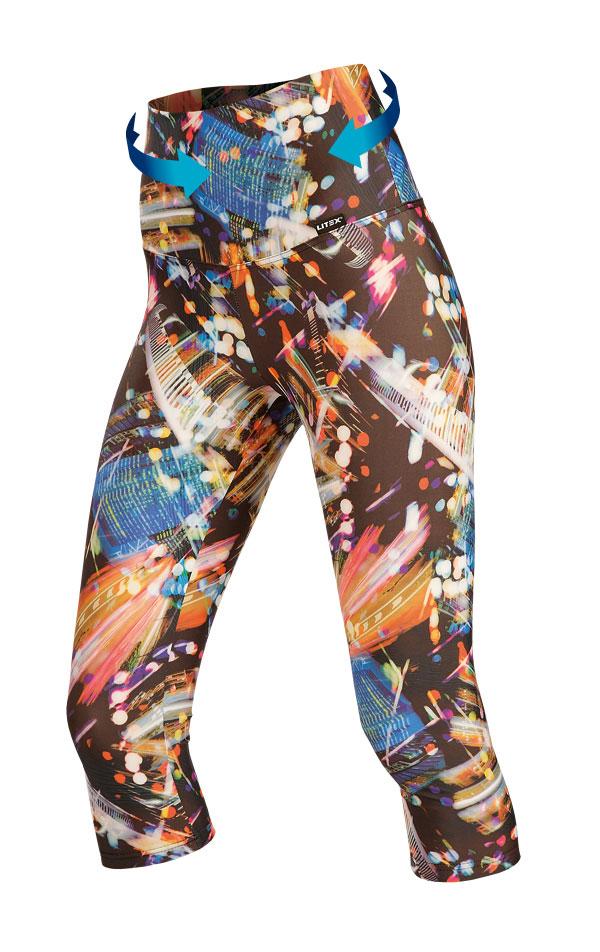 Legíny dámske v 3/4 dĺžke. 51148 | Športové oblečenie -  zľava LITEX