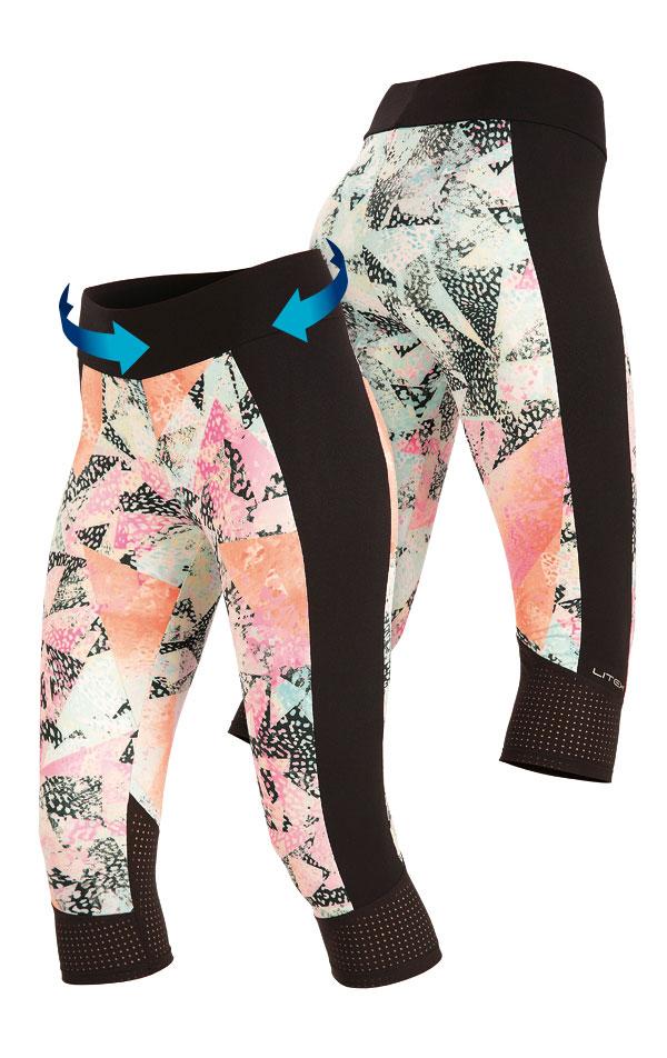 Legíny dámske v 3/4 dľžke. 51166 | Športové oblečenie -  zľava LITEX