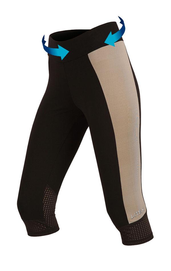 Legíny dámske v 3/4 dľžke. 51180 | Športové oblečenie -  zľava LITEX