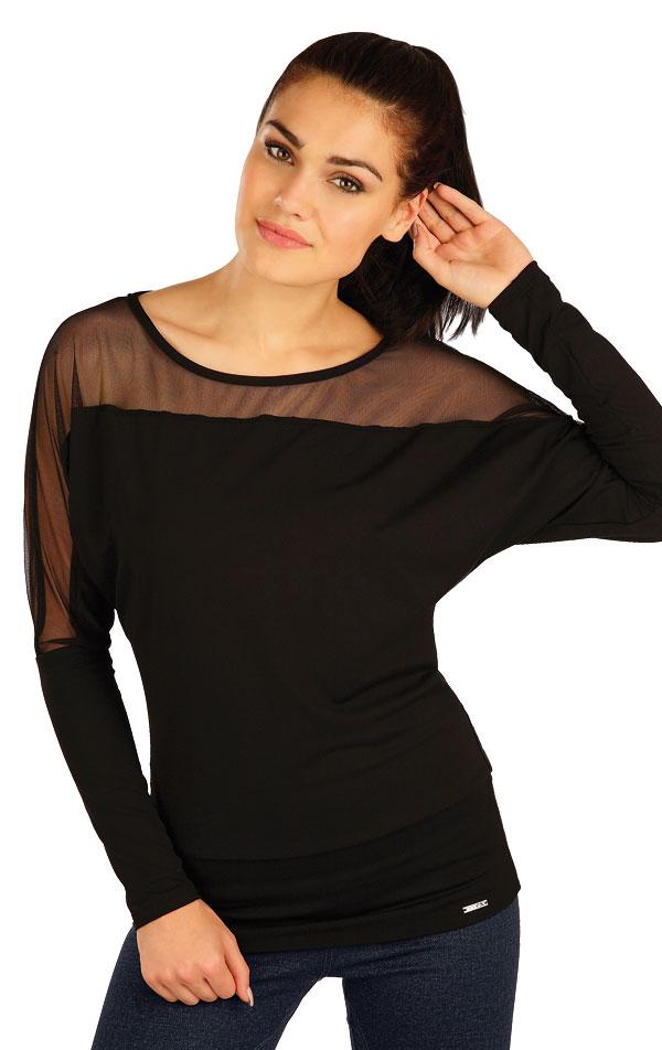 Tričko dámske s dlhým rukávom. 51196 | Športové oblečenie -  zľava LITEX