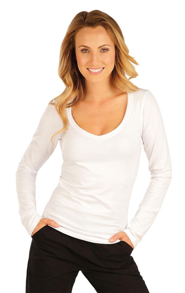 Tričko dámske s dlhým rukávom. 51219 | Športové oblečenie -  zľava LITEX