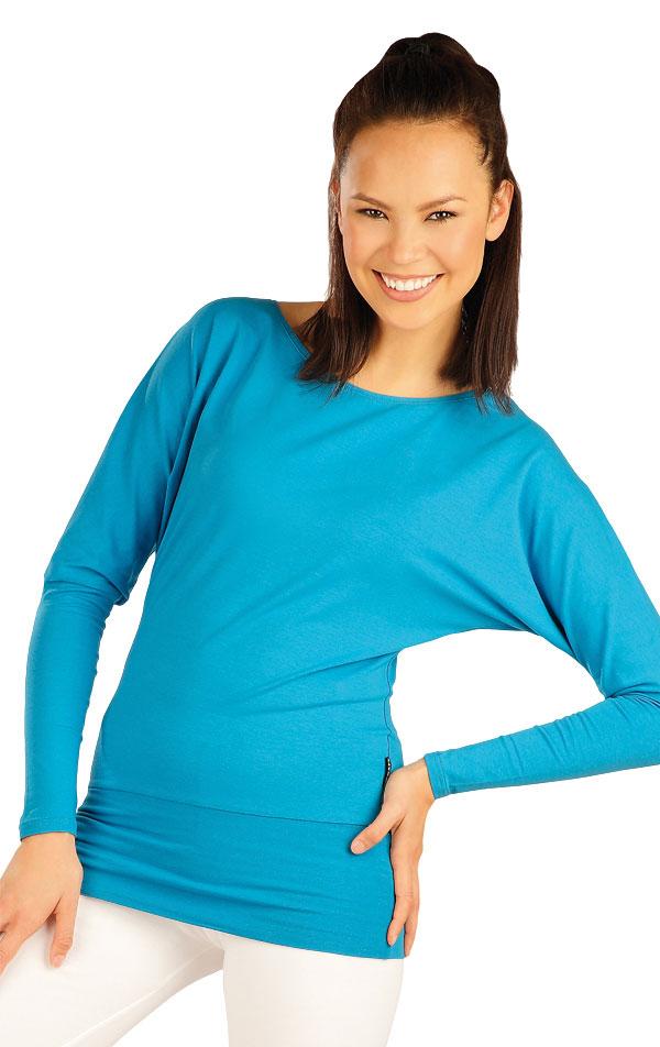 Tričko dámske s dlhým rukávom. 51220   Športové oblečenie -  zľava LITEX