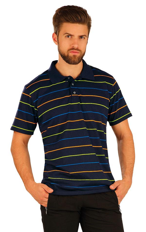 Polo tričko pánske s krátkym rukávom. 51234   Športové oblečenie -  zľava LITEX