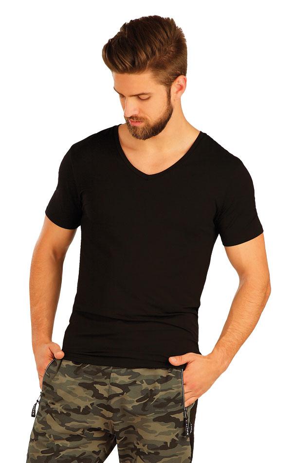 Tričko pánske s krátkym rukávom. 51237 | Športové oblečenie -  zľava LITEX