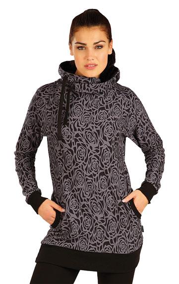 Mikina dámska s kapucňou.