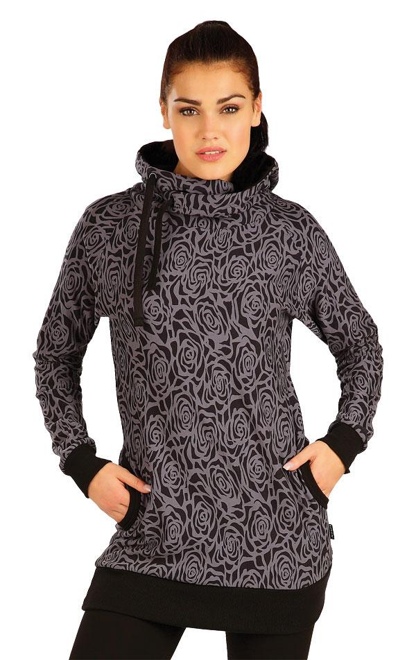 Mikina dámska s kapucňou. 51272 | Športové oblečenie -  zľava LITEX