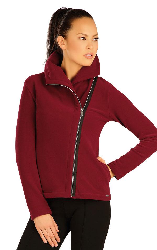 Bunda dámska s golierom. 51303 | Športové oblečenie -  zľava LITEX