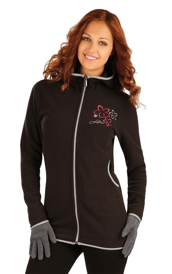 Bunda dámska s kapucňou. 51310 | Športové oblečenie -  zľava LITEX
