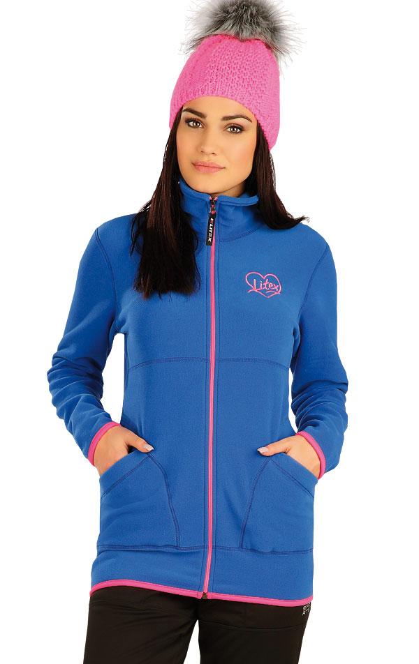 Bunda dámska so stojačikom. 51320 | Športové oblečenie -  zľava LITEX