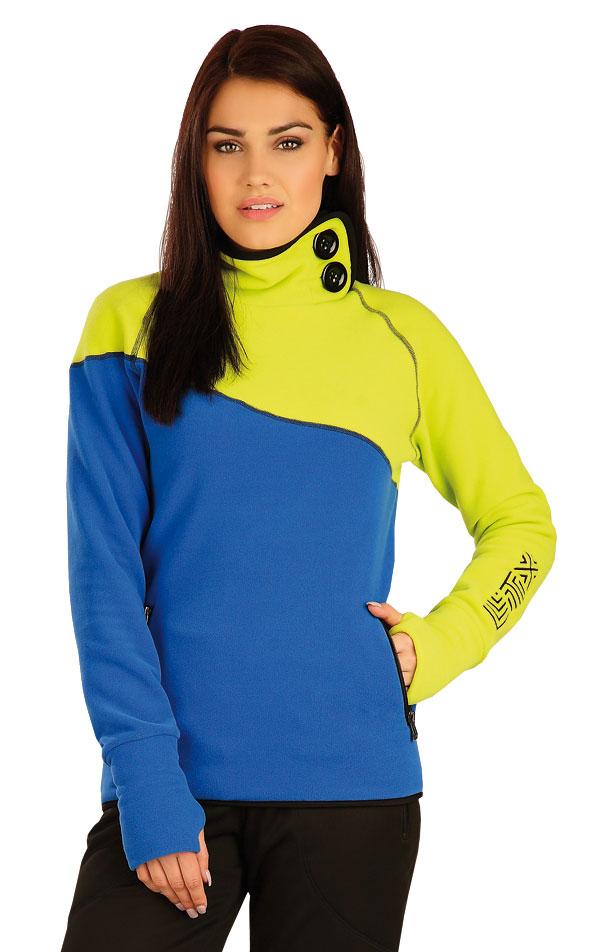 Mikina dámska so stojačikom. 51322 | Športové oblečenie -  zľava LITEX