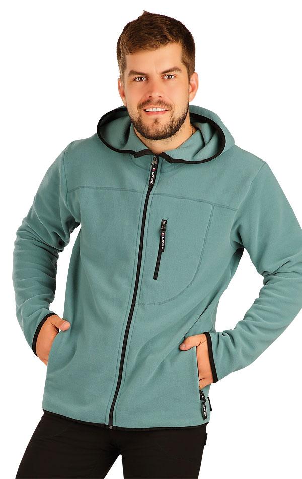 Bunda pánska s kapucňou. 51330 | Športové oblečenie -  zľava LITEX