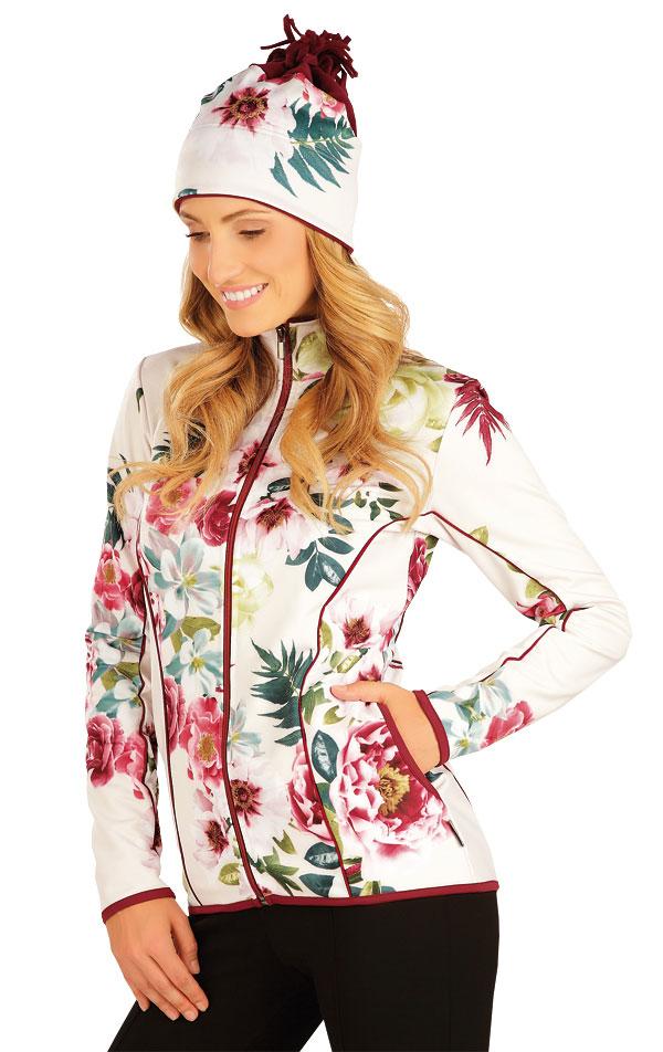 Bunda dámska so stojačikom. 51356 | Športové oblečenie -  zľava LITEX