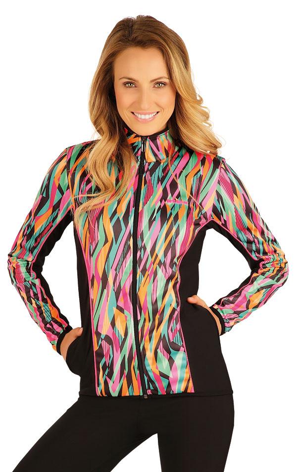 Bunda dámska so stojačikom. 51364 | Športové oblečenie -  zľava LITEX