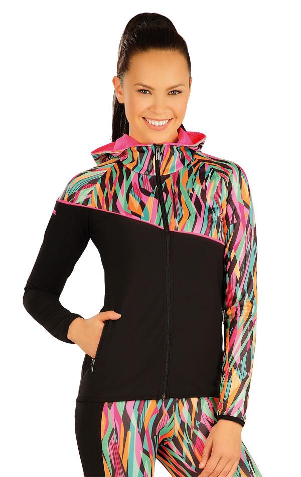 Bunda dámska s kapucňou. 51365 | Športové oblečenie -  zľava LITEX