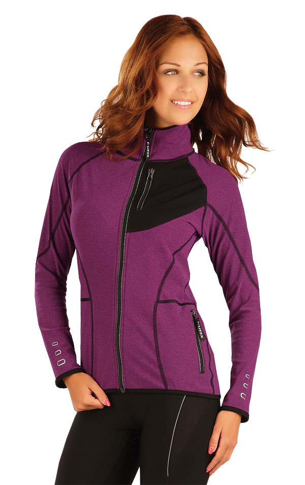 Bunda dámska so stojačikom. 51370 | Športové oblečenie -  zľava LITEX