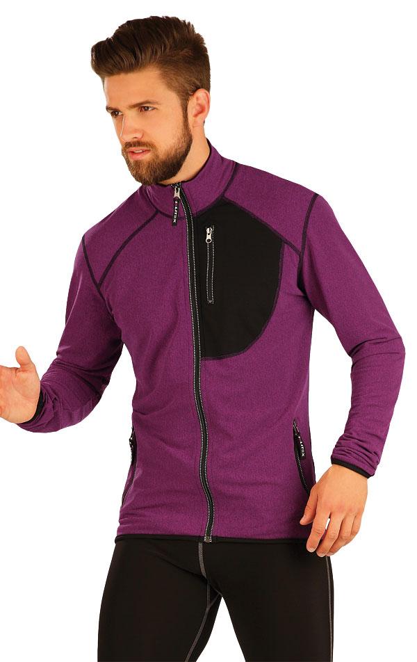 Bunda pánska so stojačikom. 51371 | Športové oblečenie -  zľava LITEX