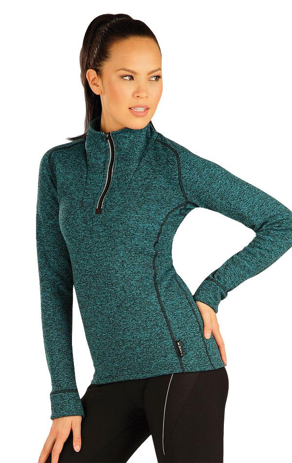 Mikina dámska so stojačikom. 51375   Športové oblečenie -  zľava LITEX