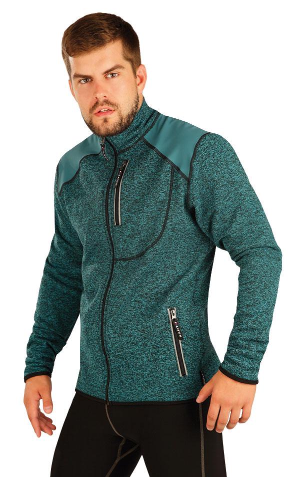 Bunda pánska so stojačikom. 51377 | Športové oblečenie -  zľava LITEX