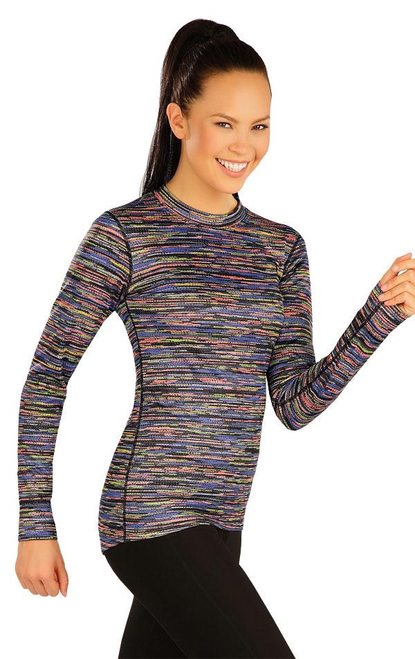 Termo tričko dámske s dlhým rukávom. 51388 | Športové oblečenie -  zľava LITEX