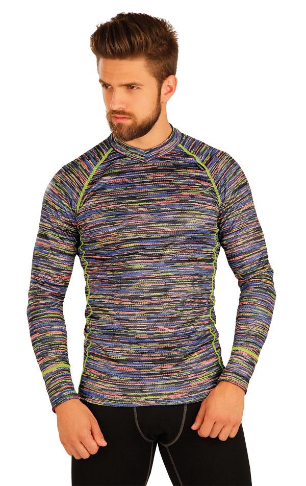 Termo tričko pánske s dlhým rukávom. 51391 | Športové oblečenie -  zľava LITEX