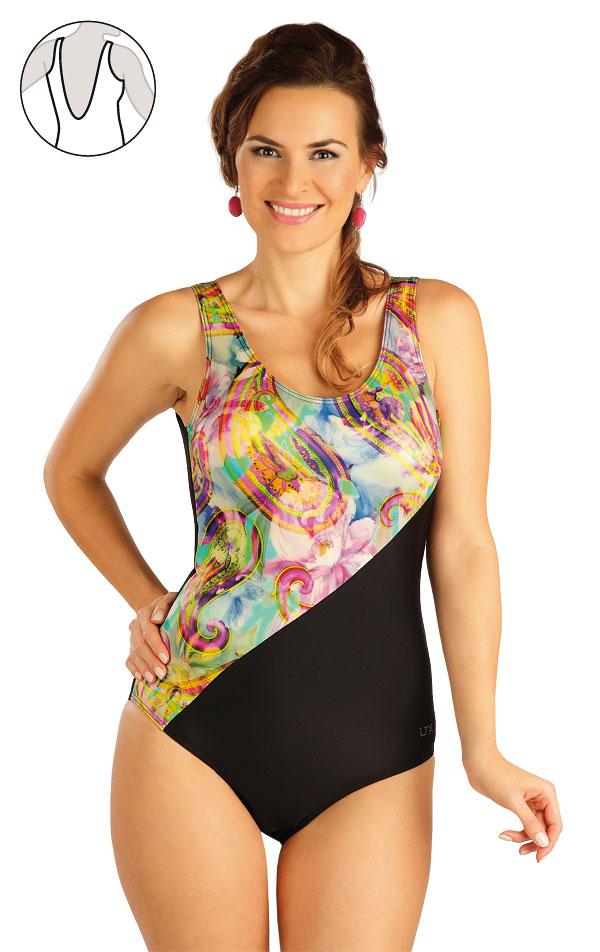 Jednodielne plavky s košíčkami. 52332 | Jednodielne plavky LITEX