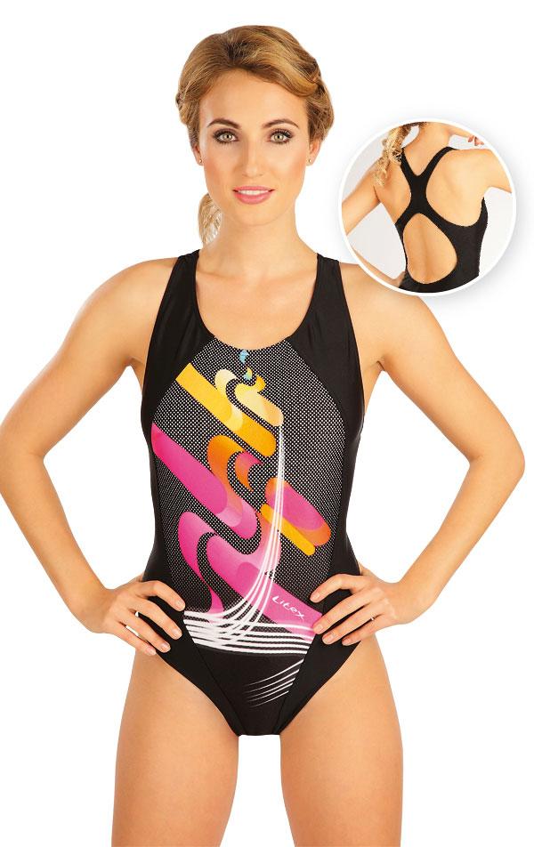 Jednodielne športové plavky. 52498 | Dámske plavky - zľava LITEX