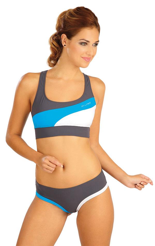 Plavkový športový top bez výstuže. 52509 | Dámske plavky - zľava LITEX