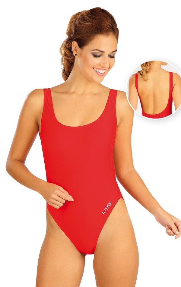 Jednodielne športové plavky. 52515 | Športové plavky LITEX