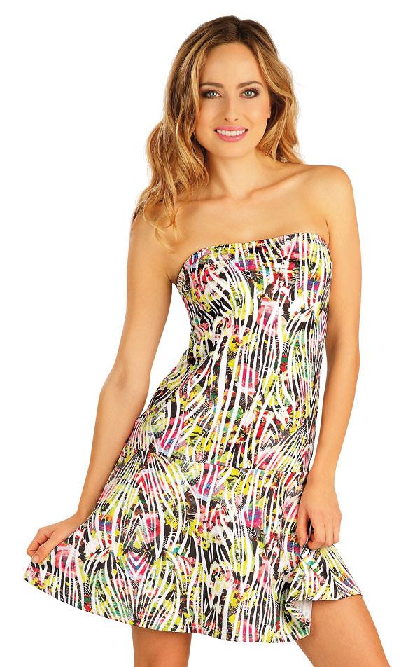 Šaty dámske bez ramienok. 52534 | Šaty a sukne LITEX