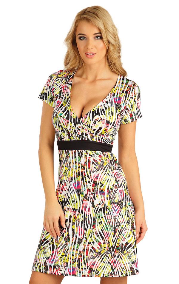 Šaty dámske s krátkym rukávom. 52537 | Šaty a sukne LITEX