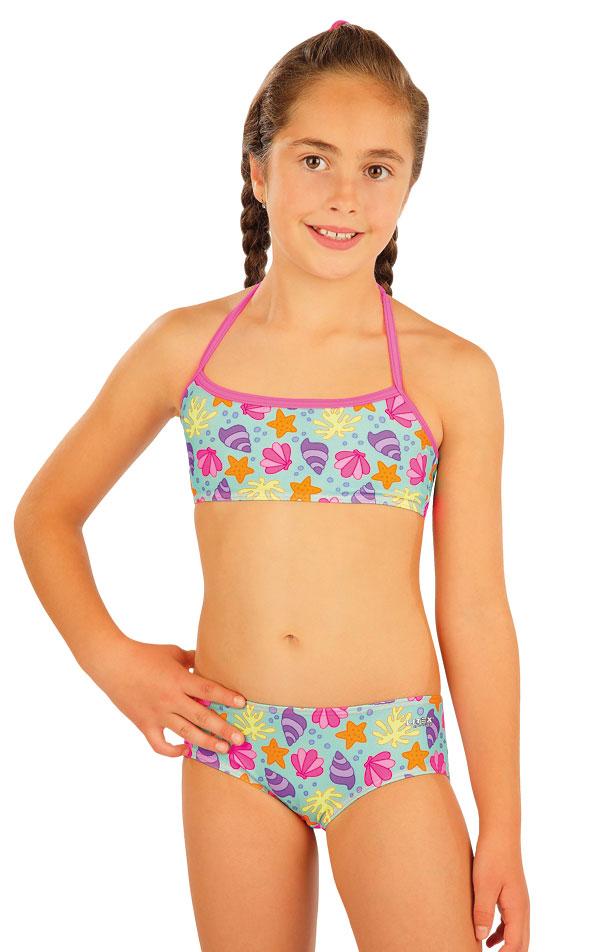 Plavkový top dievčenský. 52564 | Dievčenské plavky LITEX